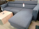 FB BANQUETTE D ANGLE TISSUS GRIS