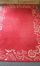 TAPIS RECT ROUGE