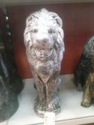 STATUETTE PLATRE LION