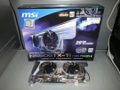CARTE GRAPHIQUE  CARTE GRAPHIQUE MSI N560GTX-TI TWIN FROZR II/OC (GTX 560 TI 1 G