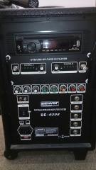 ENCEINTE AMPLIFIE 80WATTS+CD+USB+MMC+2 MICRO HF/ACC A3/POWER BE 9208