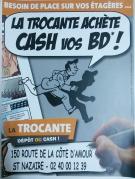 LA TROCANTE ACHETE CASH VOS BD