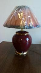 LAMPE RONDE BRUNE