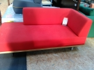 CHAISE LONGUE ROUGE FIFTIES HABITAT