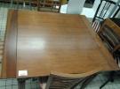 TABLE CARREE EXOTIQUE 4P + 2 ALLONGES
