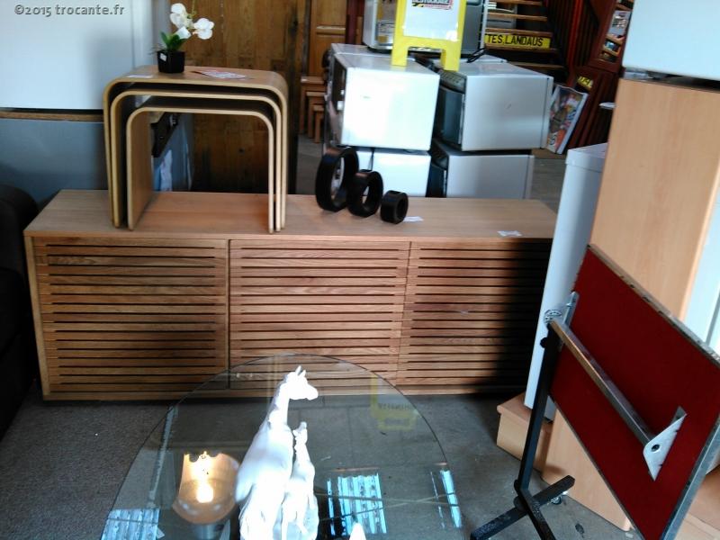 max buffet bas 3p chene habitat la trocante d posez et encaissez. Black Bedroom Furniture Sets. Home Design Ideas