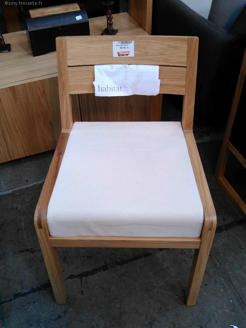 chaise radus habitat la trocante d posez et encaissez. Black Bedroom Furniture Sets. Home Design Ideas