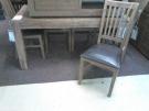 DR ENSEMBLE TABLE + 6 CHAISES ACACIA