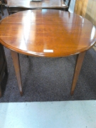 TABLE OVALE T MIEL 1 ALL