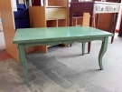 TABLE BASSE PATINE VERTE