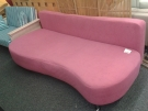 BANQUETTE CONVERTIBLE ROSE CHROME