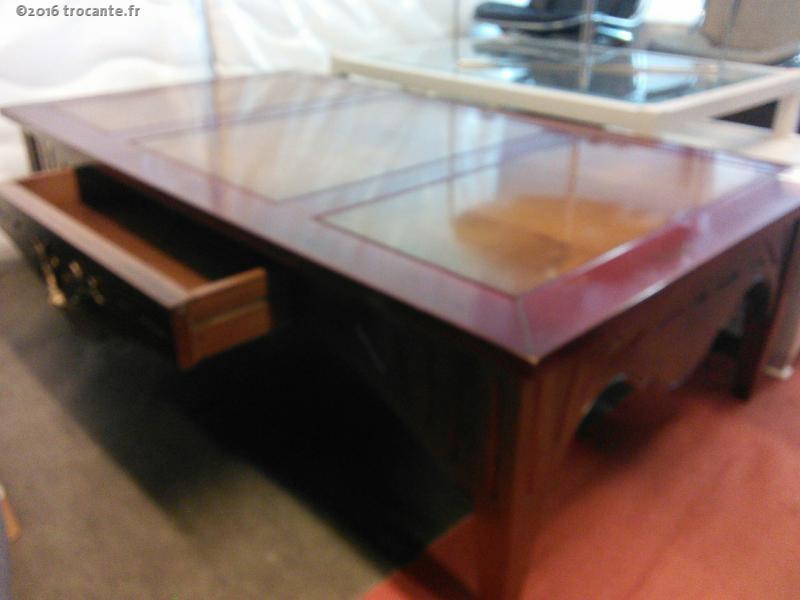 table basse bi color la trocante d posez et encaissez. Black Bedroom Furniture Sets. Home Design Ideas