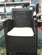FAUTEUIL ST COLONIAL OSIER TRESSE