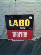 PLAQUE LABO MARINE DOUBLE FACE
