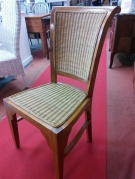 SERIE 4 CHAISES CANNAGE