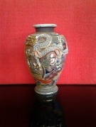 VASE FAIENCE SATSUMA GM