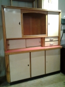 BUFFET FORMICA 2 CORPS 60'S