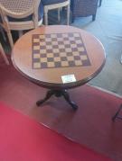 TABLE GUERIDON+JEU ECHECS