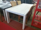 TABLE RECT.MASSIF BOIS CLAIR