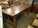 TABLE FERME 2M+2 ALLONGES 40CM CHENE