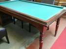 BILLARD TABLE PLATEAU MERISIER 3 QUEUES 3 BOULES