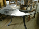 TABLE F FORGE VERRE 130