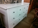 COMMODE 8 TIROIRS BLANCHE IKEA