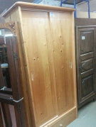 ARMOIRE PIN 2P COULISSANTE+1T