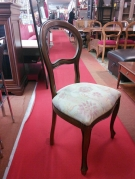 SERIE 6 CHAISES STYLE LOUIS PHILIPPE