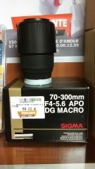 OBJECTIF SIGMA 70-300MM F4-5.6