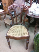 SERIE 4 CHAISES ANCIENNES CANNEES