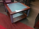 TABLE BASSE CARREE ROULETTES