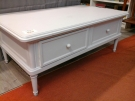 TABLE BASSE RECT.2T GRISE