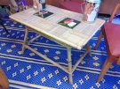 TABLE BASSE ROTIN AN.50 DECO CARRELAGE