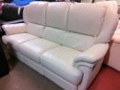 BANQUETTE RELAX CUIR BEIGE