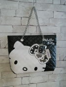 SAC A MAINS HELLO KITTY NOIR ET BLANC