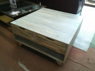 TABLE BASSE RECT.2T  BOIS