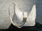 SAC A MAINS POURCHET CUIR BLANC