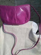 SAC A MAIN POCHETTE CHARLES JOURDAN ROSE