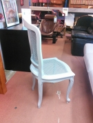 SERIE 6 CHAISES CANNEES GRISE ST LXV
