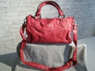 SAC A MAINS CUIR GIL HOLSTERS ROUGE CUIR
