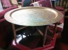 TABLE ST ORIENTAL PLATEAU CUIVRE