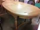 TABLE OVALE PL.CHENE+1 ALLONGE