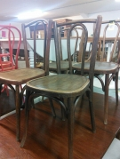 SERIE 4 CHAISES ST BISTROT ( MODELE DIFFERENTS)