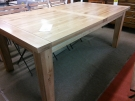 TABLE RECT GM CHENE 110*190 + 1 ALLONGE 60CM