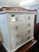 COMMODE 5T CERUSE GRISE