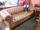 CANAPE CHESTERFIELD CUIR