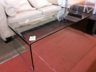 TABLE BASSE VERRE TREMPE MODERNE RECT