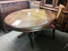 TABLE OVALE MERISIER + 3 ALL
