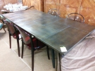 TABLE GM ST INDUSTRIEL DESSUS METAL